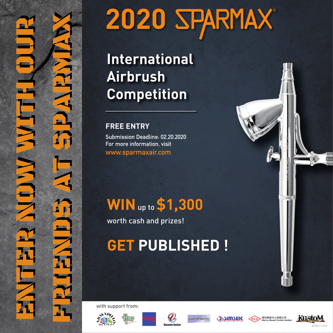 Sparmax Airbrush Competition